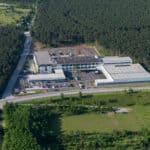Luftaufnahme des größten Standortes in Weikersdorf (NÖ) Bild: KrausNaimer ©DavidRudolf
