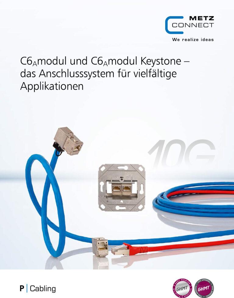 Metz Connect C6Amodul und C6Amodul Keystone