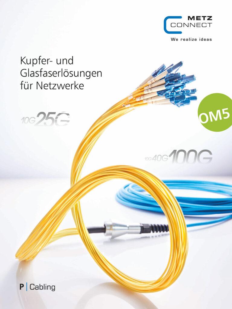 Metz Connect Kupfer- und Glasfaserlösungen für Netzwerke