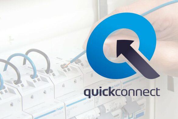 Quickconnect-Zeichen von Hager