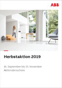 Cover der ABB Herbstaktion