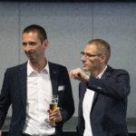 DI (FH) Uwe Klingsbigl und Tomasz Deby.