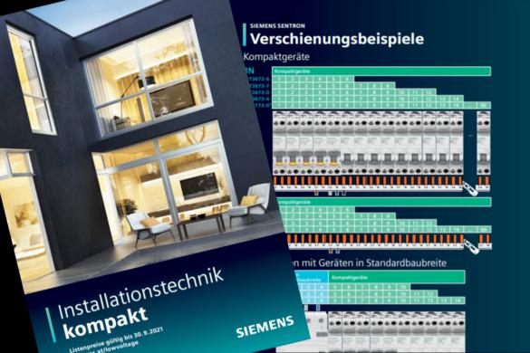 Broschüre: Installationstechnik kompakt von Siemens