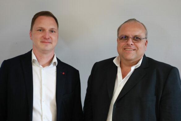 Martin Haselsteiner und Helmut Maier