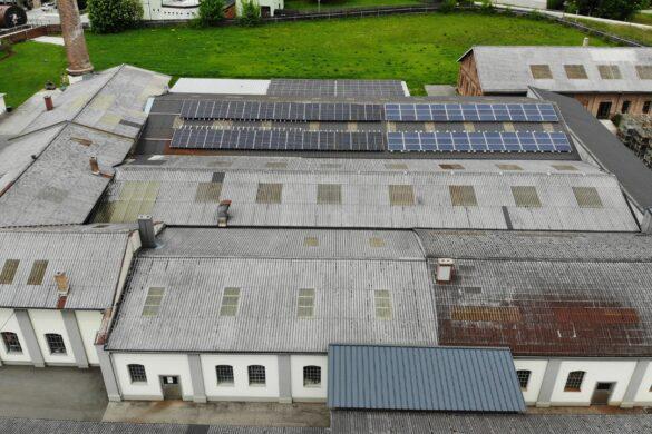 Photovoltaic, solar power, Rohrbach, Burgenland, Austria